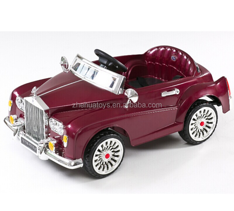 classic car kids 12volt electric rc ride on cars with two motorsbaby