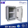 "China origin heat insulation enclosure/aluminum equipment rack/SK-65100/weatherproof telecom cabinet with 19"" rack and cooling"