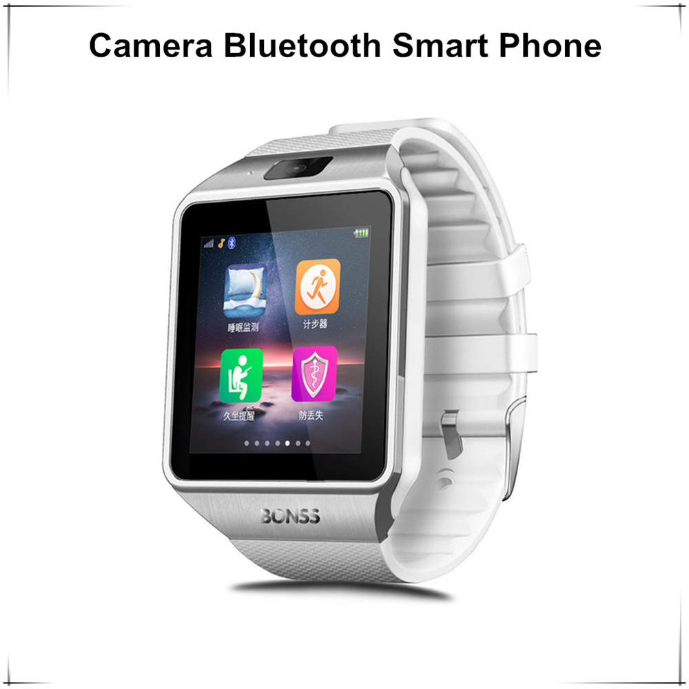 2017 Cheap Chinese Quad Support Sim Card Smart Watch Dz09 Sim Card Smart Watch <strong>Phone</strong>