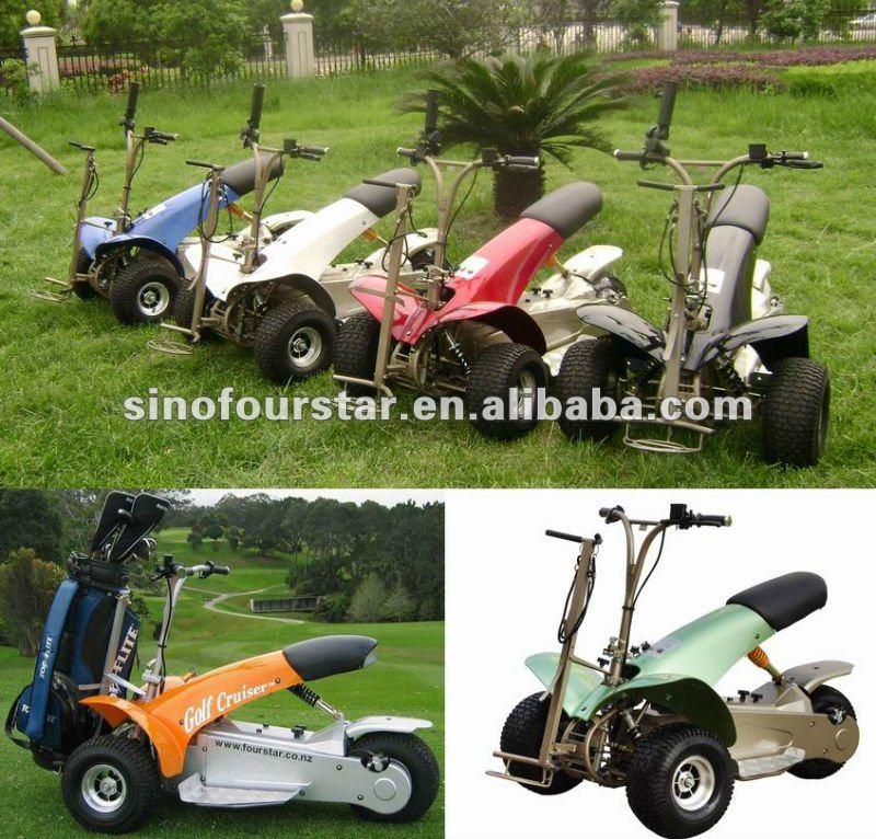 3 Wheels Golf Cart 1000w Electric Motor Golf Caddy Cheap Golf