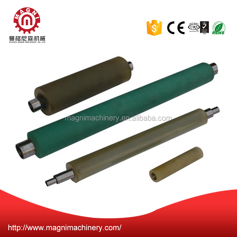 Magni machinery Custom acrylonitrile butadiene NBR Rubber feed rollers