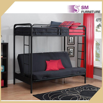 School Furniture Double Decker Bunk Bed Frame For In