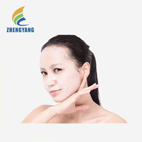 2017 Environment Friendly lady prevent water evaporation best skin care Bamboo Fiber facial masks cosmetic facial mask