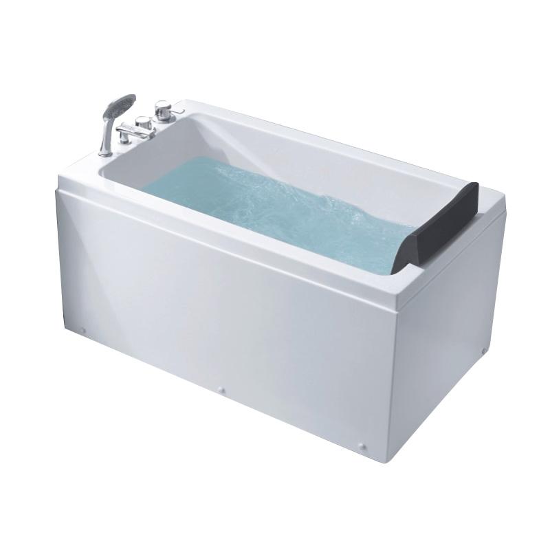 AD-B9964 pequeña dimensión 1.2 m baño sola acrílico jakuzzy ...