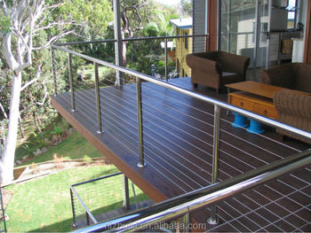 Nature Color U0026 Clean  Looking Outside Stainless Steel Deck Guard Rail
