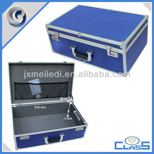 MLDGJ618 Electrical Complete Blue Top Quality Metal Mechanic Hand Toolbox Plastic Hard Cabinet Aluminium Tool Box