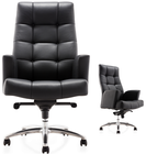 Leather Chair Swivel Chair Fashion Modern Design Luxury Boss Swivel Tilt Adjustable Reclining Office Leather Chair