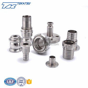 China Custom Hydraulic Hose Flange Fitting Stainless Steel For Hydraulic Hose Pipe