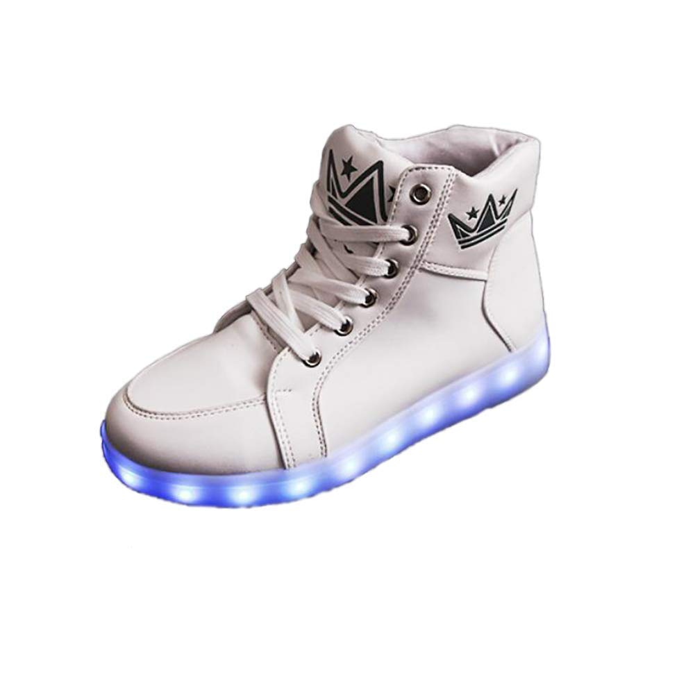 f59df5300c67 Get Quotations · MHC Unisex Shoes PU(Polyurethane) LED Shoes Spring Fall  Comfort Crib Shoes