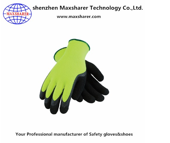 13G nylon work pu touch screen gloves customized safety pu touch screen gloves