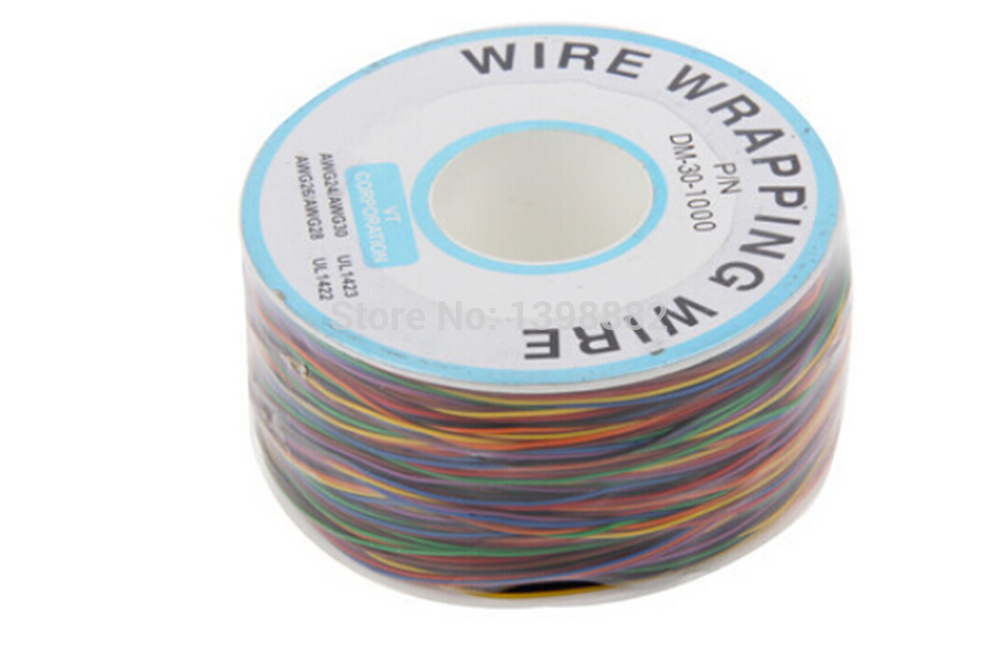 8 Colour Wire Wrapping Wrap 300 Meters High Quality ok wire Electronics line