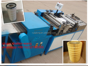 Rotary roller type air(oil,fuel) filter paper pleating machine
