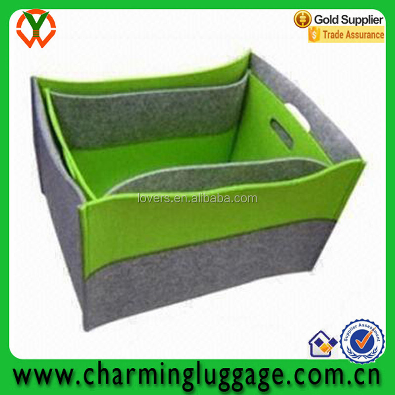 2pcs set felt storage bag gift basket