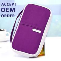 Elegant Design Handy 23x13cm Travel Organizer Card Passport Money Holder Wallet