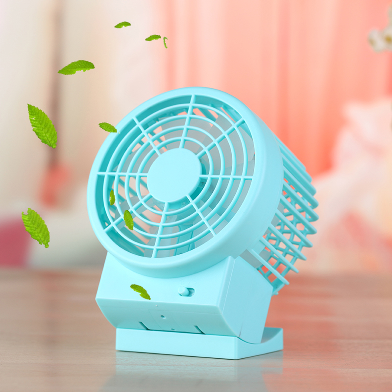 Newest Dual Motor Blower Design USB Desk Table Mini Fan for Room Office Travel