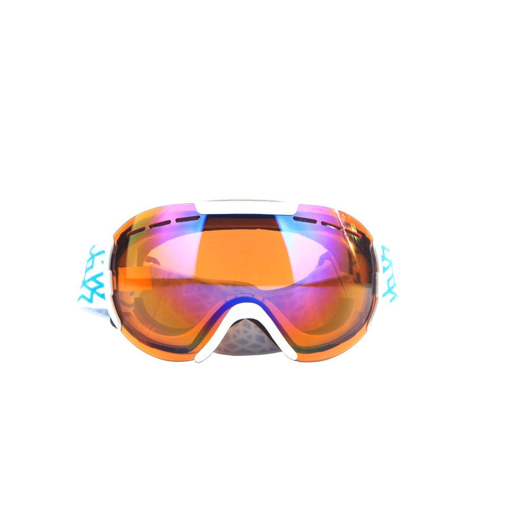 Crystalzhong Snow Ski Goggles Ski Goggles, Gonex Snow Snowboard Goggles for Men Women Youth Anti-Fog with Windproof Anti-UV Winter Outdoor Sports