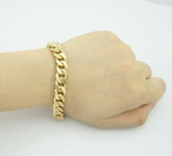 Sterling Silver Bracelets And Pure Gold For