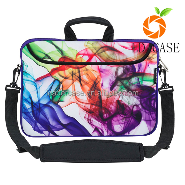Factory hot sale neoprene laptop bag with handle for Apple/Samsung laptop