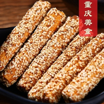 Chinese Snack Food 170g Sesame Snack Hand Made With Maltose For Party