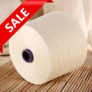100% organic cotton yarn for weaving and knitting