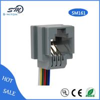 2c connector rj11 socket/ 623k wired telephone jack/ female jack connector