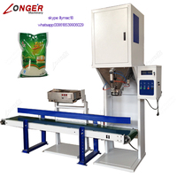 Automatic Rice Grain Weight Packing Equipment Rice Bagging Machine With Sewing Machine
