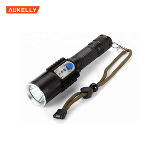 Torch Light Portable Power Bank,usb Rechargeable Power Bank high power long beam distance rechargeable torch