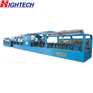 ZG76 Carbon Steel High Frequency Straight Seam Pipe Mill Manufacturer Galvanized Mild Steel Pipe Making Machine