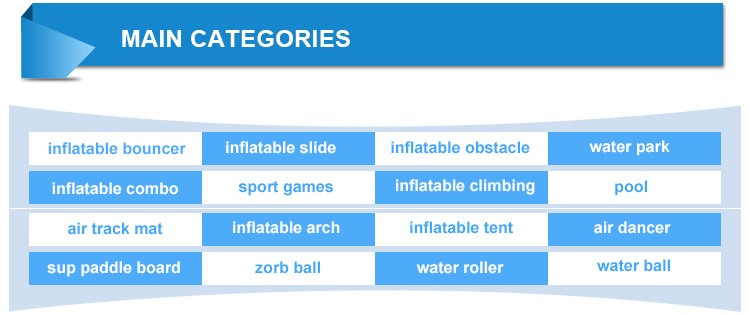 Guangzhou Factory Price Durable Adult Inflatable Floating Aqua Park Inflatable Water Park Games