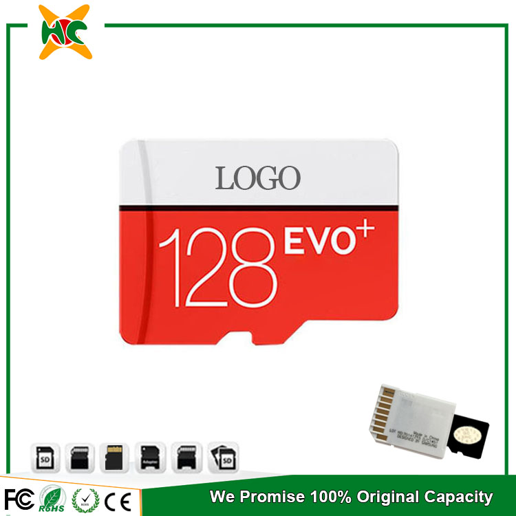 Nano Sd Card 128gb For Samsung Evo Plus 80mb/s Flash Card