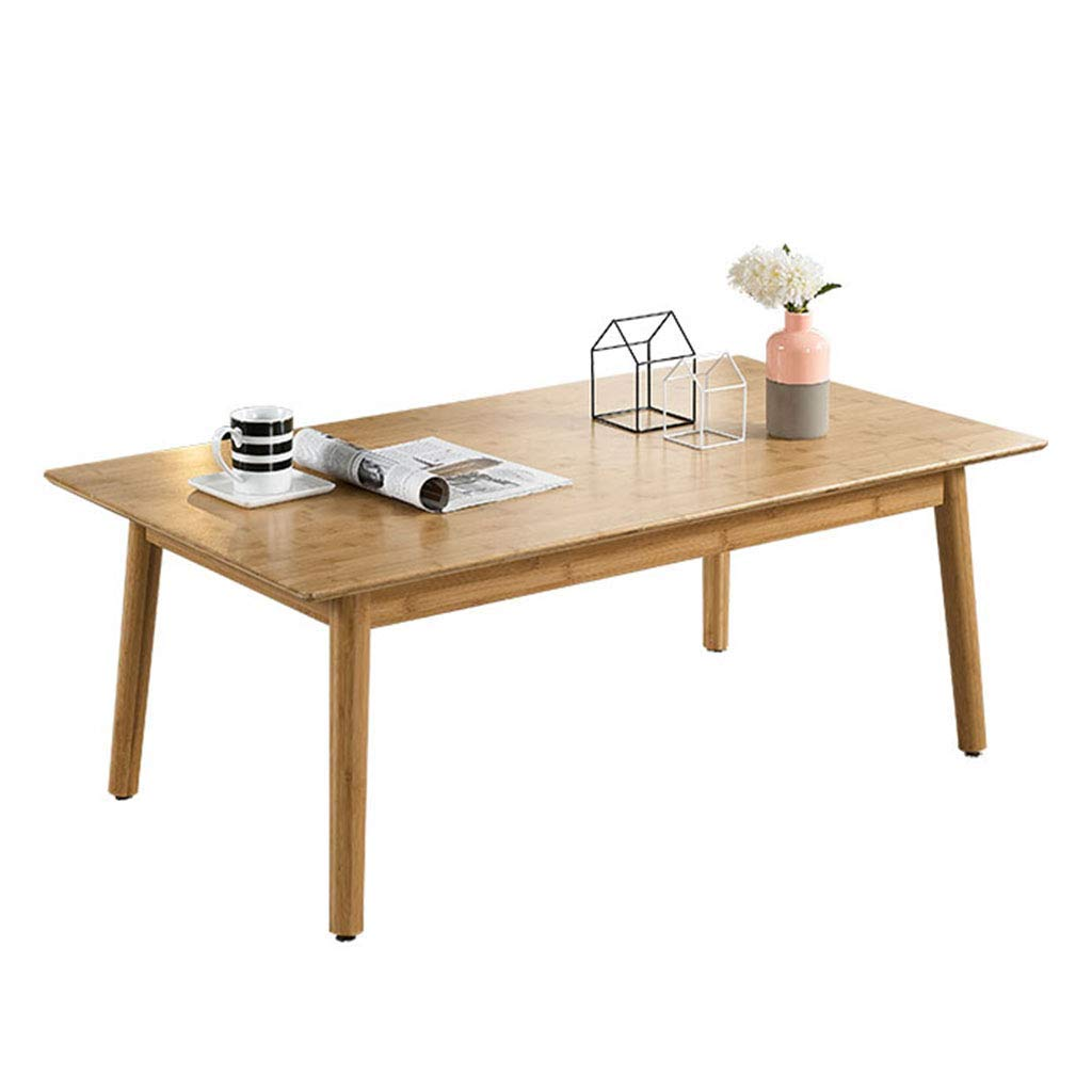 Ren Chang Jia Shi Pin Firm Coffee Tables Coffee Table Table Living Room Table Computer Table Small Coffee Table Balcony Tatami Long Table (Color : Beige, Size : 1206532cm)