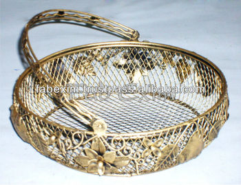 Decorated for wedding baskets wedding candy basket decorative decorated for wedding baskets wedding candy basket decorative basket with handle junglespirit Gallery