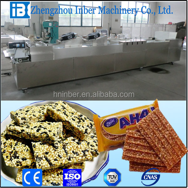 2-8t/h cereal bar maker from inber factory directly