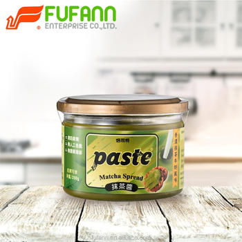 paste - Match Spread, Green tea spread, Halal Food 250G