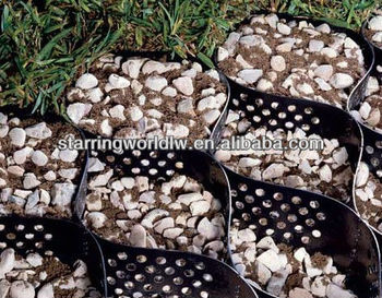 Plastic Gravel Stabilizer To Stable The Roadbed Railway