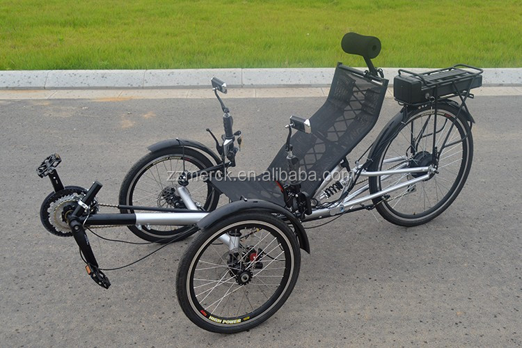 Were visited 3 wheel recumbent style adult bike