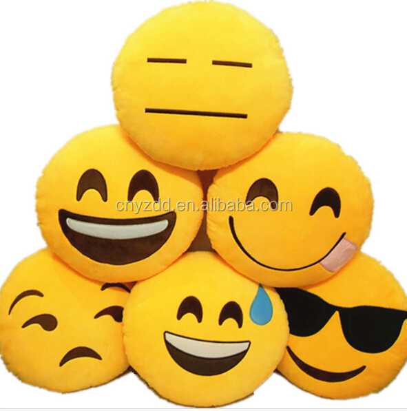 Emoji Cuscini.Campione Gratuito Peluche Emoji Cuscini Fabbrica A Buon Mercato Su