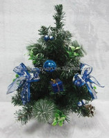 2015 Hot sale Exquisited new design Mini Christmas decorated tree