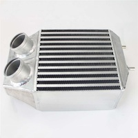 Twin 2 Rows Super Capacity Side Mount Intercooler for 5 GT Turbo 85-91