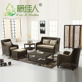 High Quality Danish Design Synthetic Rattan Furniture