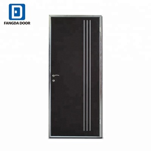 Fangda high quality aluminum strips metal door decoration hollow core metal door