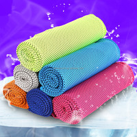 China Suppliers Wholesale Sports Gym Ice Cooling Towel