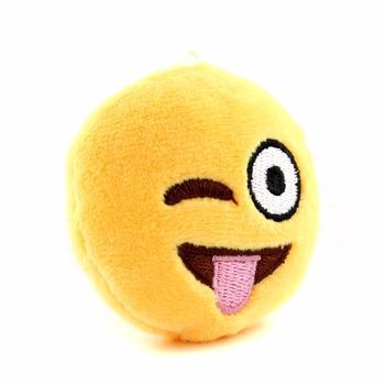 Emoji Mini Stuffed Plush Toy Emoticon Throw Pillow Cushion Keychain
