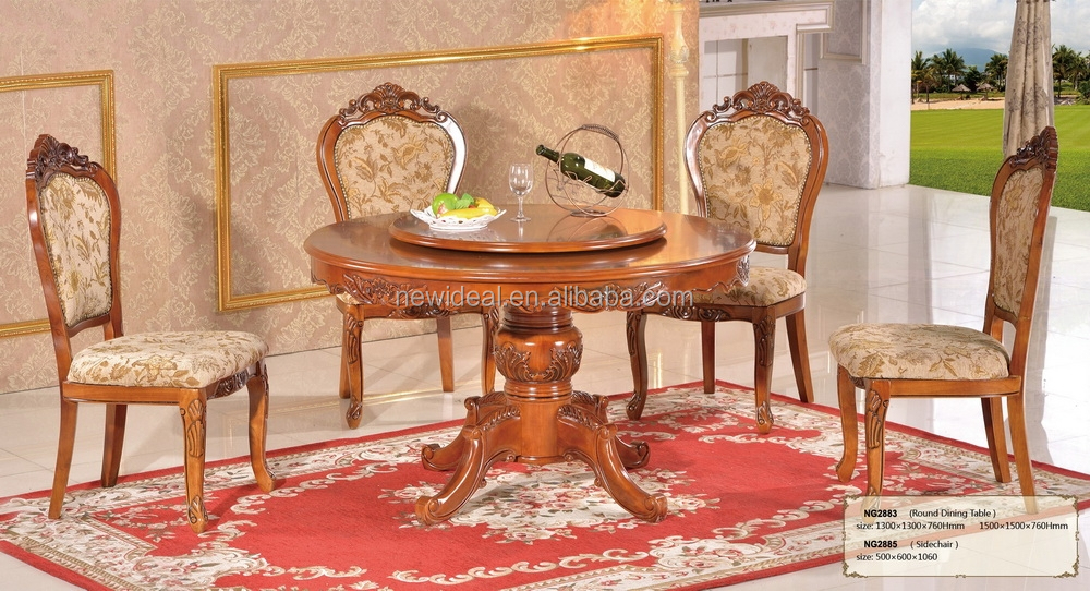 Round Dining Table With Rotating Centre Ng2883 Product On Alibaba