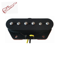Donlis DTB51 Staggered Alnico 5 rod pole pieces Tele Electric Guitar Pickup in Bridge Position
