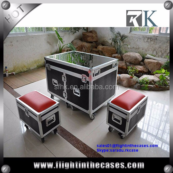 High Quality Portable Flight Case Sofa for Events and Trade Show