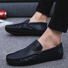 2019 NEW style Men's Leather Shoes Casual Driving cheap shoes  fashion shoes zapatillas