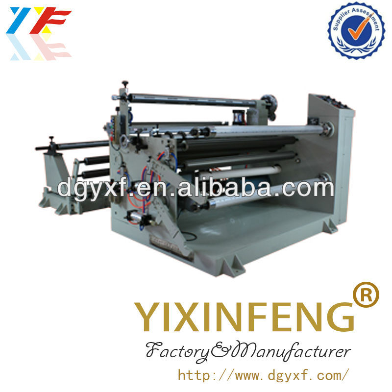 Adhesive Tape And Protector Film Laminating With Slitting Machine/vinyl roll slitter