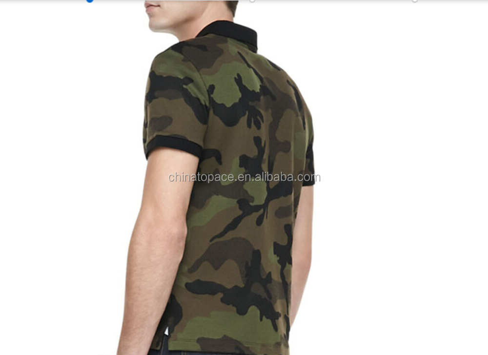 100  cotton knitting pique fabric brand police camouflage