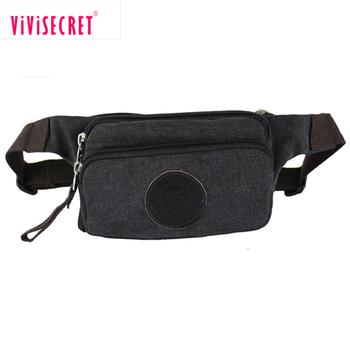 4d06bd354 Factory custom logo design mens fanny pack women sport waist bag canvas  running waist bag